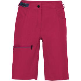 VAUDE Tekoa Spodnie krótkie Kobiety różowy